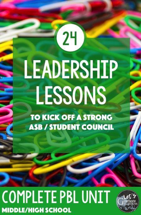 24 great activity lessons for your middle / high school Leadership class or Student Council group! Complete with teacher directions and a culminating Kindness Project!