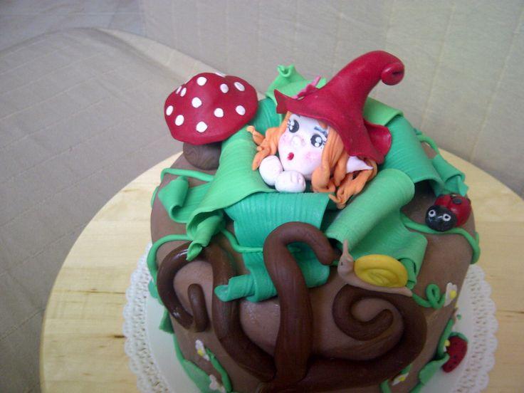 torta folletto nel bosco