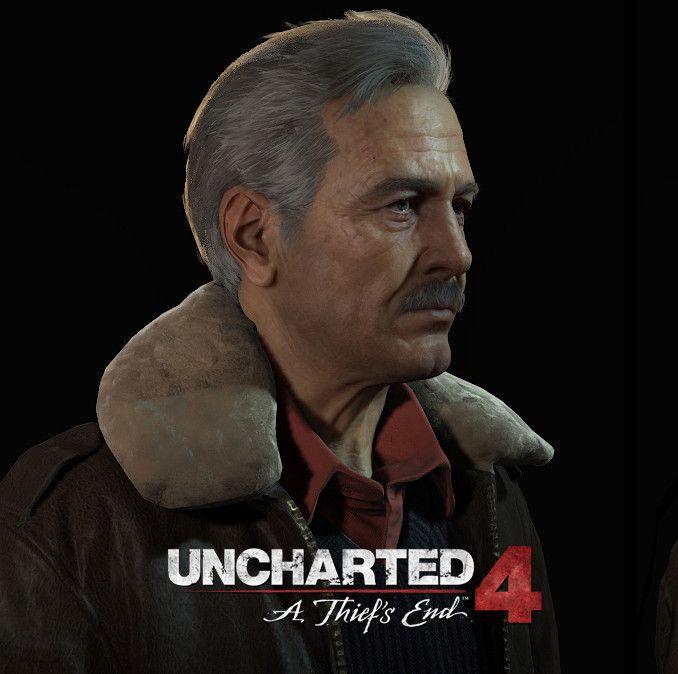 Uncharted 4 - Victor Sullivan, Frank Tzeng on ArtStation at https://www.artstation.com/artwork/n2zw9