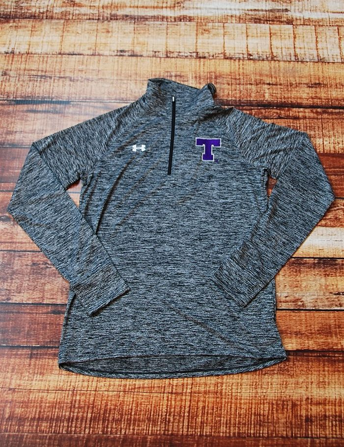 Stay active in this great Tarleton Under Armour pull over! Go Texans!