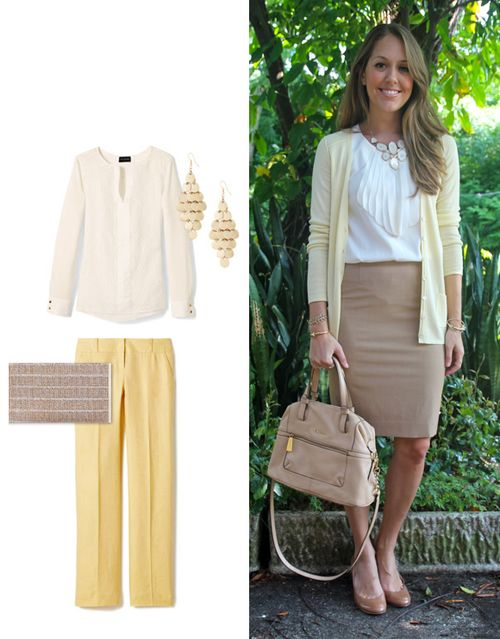 Today's Everyday Fashion: Pale Yellow