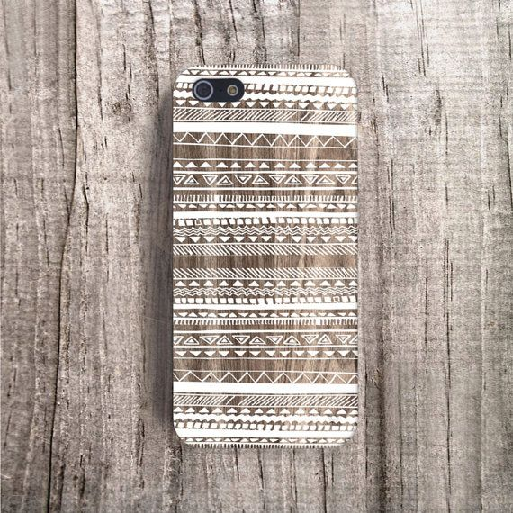 AZTEC iPhone Case iPhone 4S Case Wood Effect by casesbycsera, $19.99