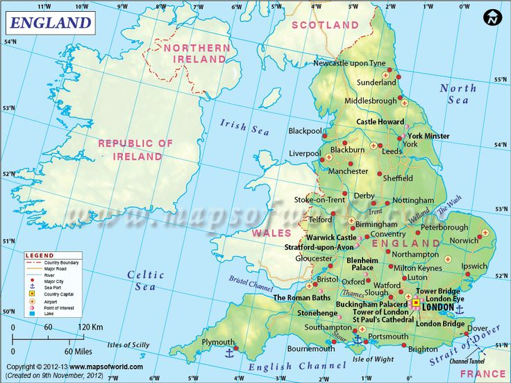 106 best country maps images on pinterest country maps world maps england map showing the part of the uk bordered by scotland and wales england mapcountry mapsworld gumiabroncs Image collections