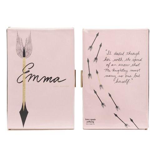 EmmaSpade Book, Reading, Book Worth, Book Clutches, Jane Austen, Emma Clutches, Kate Spade, Design, Katy Evans
