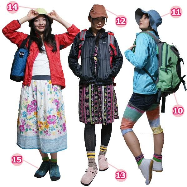 Example Of Yama Girl Fashion Hiking OutfitsGirl