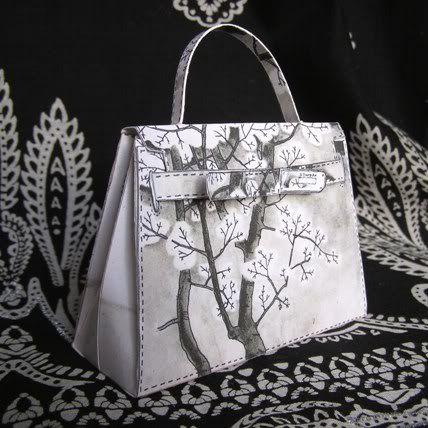 Hermes purse templates 3: Template & Printable Patterns - Splitcoaststampers