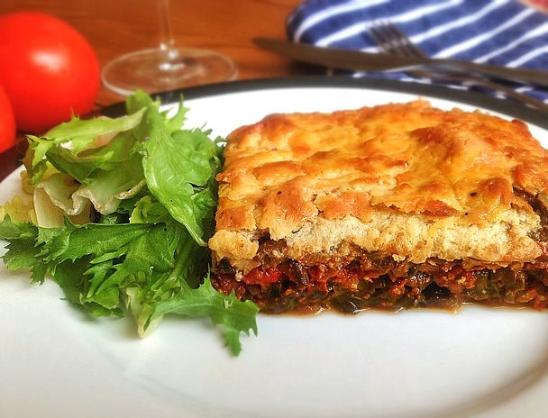 Vegan Moussaka As Close To The Authentic Greek Version But Without The Meat