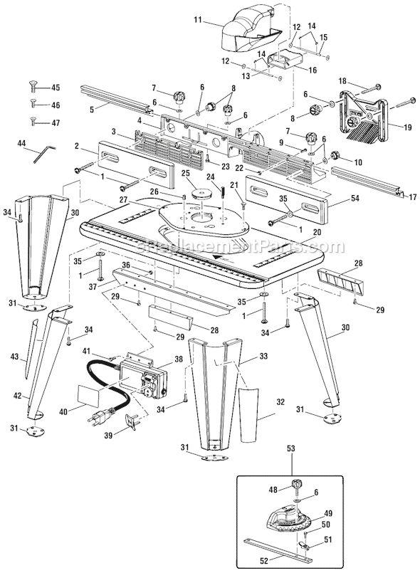 Ryobi A25RT02 Parts List and Diagram : eReplacementParts.com