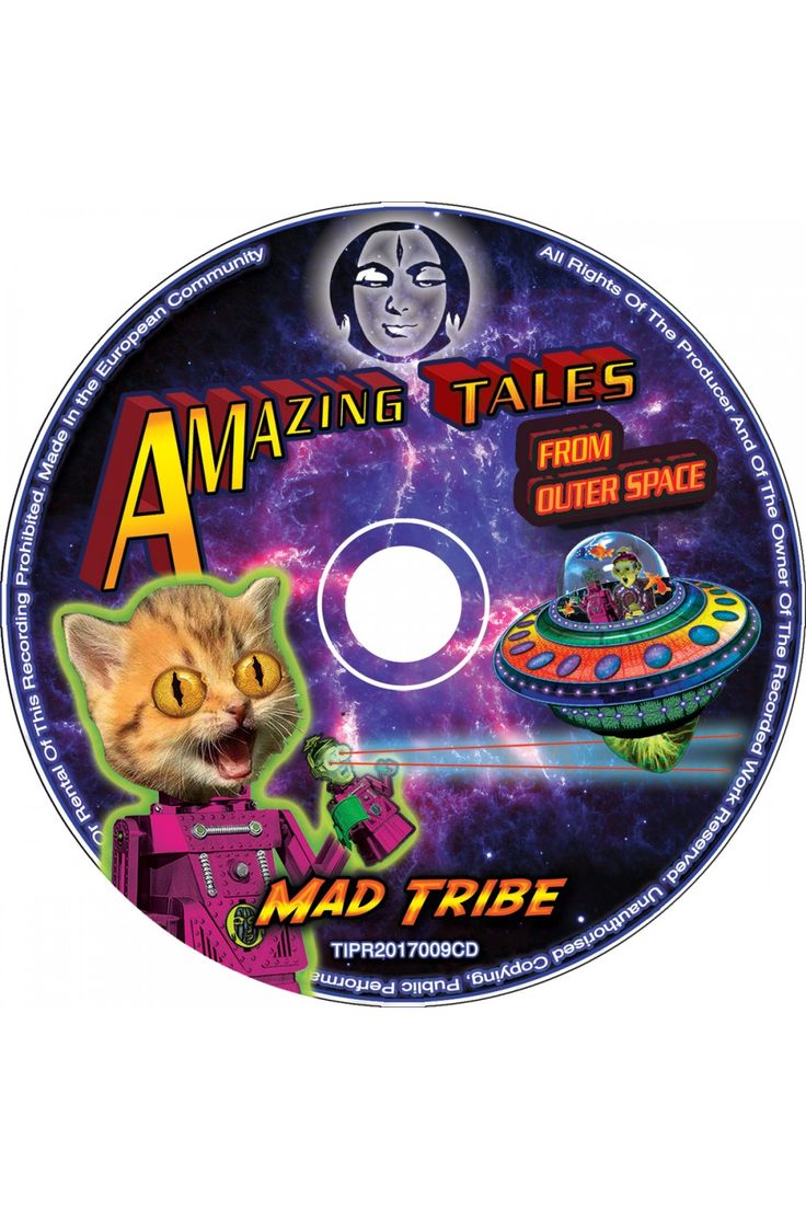 Amazing Tales CD : Mad Tribe Released July 14 2017 on TIP Music, available for pre-sales now. Mad Tribe is the fantastic collaboration between Space Tribe & Mad Maxx !  Amazing Tales from Outer Space 9 Mind blowing tracks to take you to the depths of outer & inner space. Pushing boundaries, Exploring new dimensions, Mad Tribe take you on a journey far beyond everyday reality.