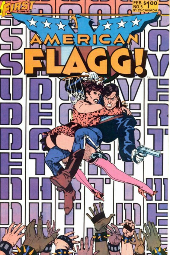 COMIC_american_flagg_05 #comic #cover #art