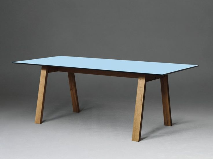SC50 by Janua Tavolo rettangolare in HPL L. 160, 180, 200, 220, 240, 260, 279 cm B. 80, 90, 100 cm
