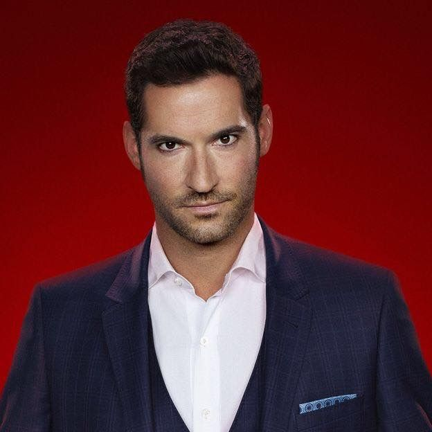 Lucifer Morningstar Tom Ellis Portrait Tom Ellis Lucifer