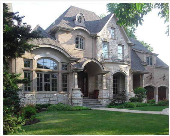 I want a stone/brick house so bad!