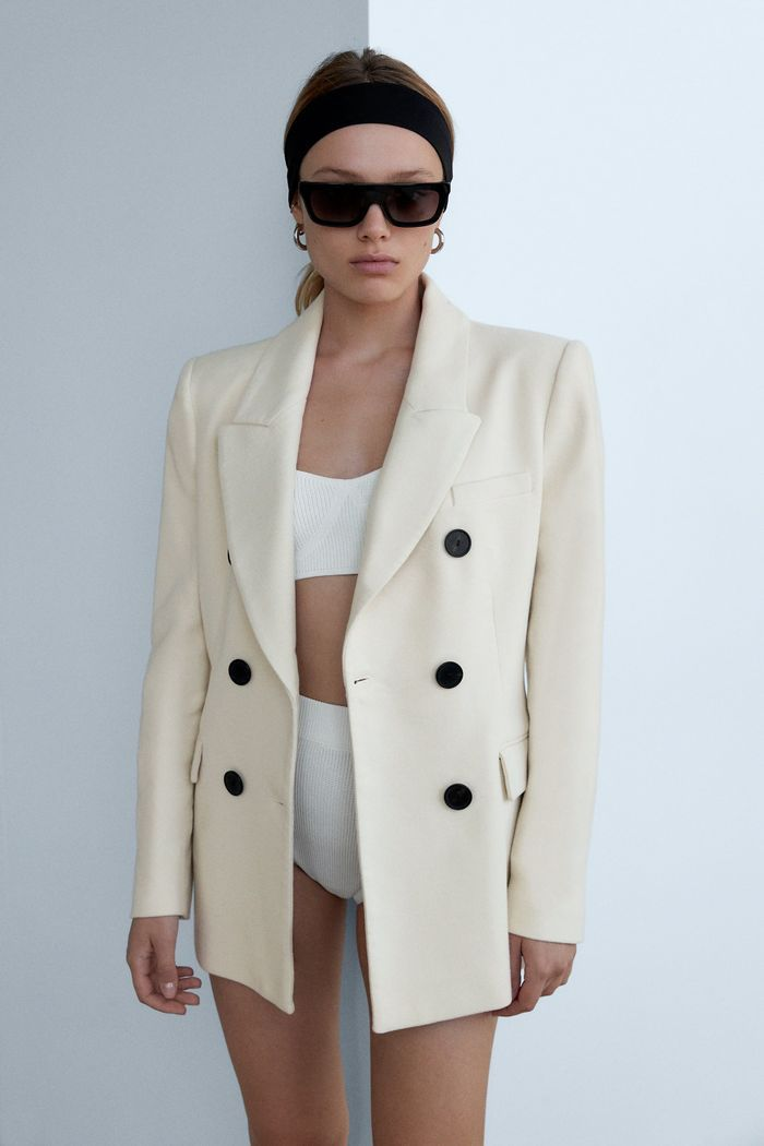 These Are The 43 Best Fall Zara Items And Yes They Will Sell Out Jackets For Women Zara Double Breasted Blazer