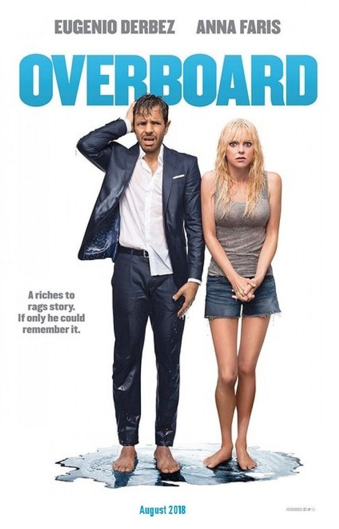 Overboard (Pela Borda Fora) - 2018 | Movie Poster | About