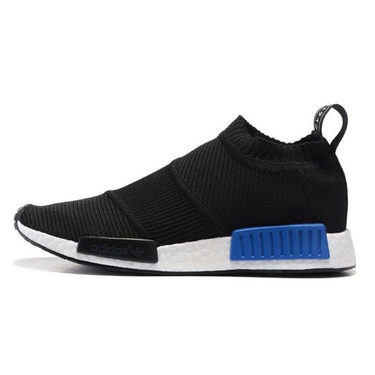 unisex adidas originals nmd mid city socknegro azul trainers tamaÑo uk3 9