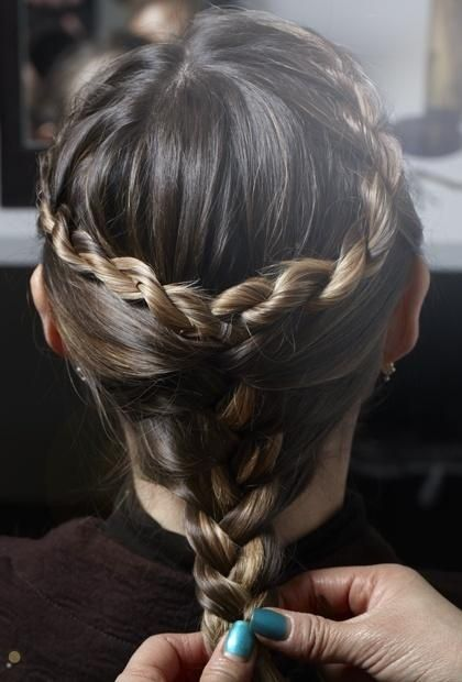 Game of Thrones Braid How To Twist strand on each side  diy  hairstyle games | hairstyles
