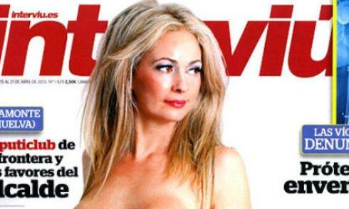 Ex política española posa semi desnuda para callar las críticas (FOTO GRÁFICA) | ¿Qué Más?