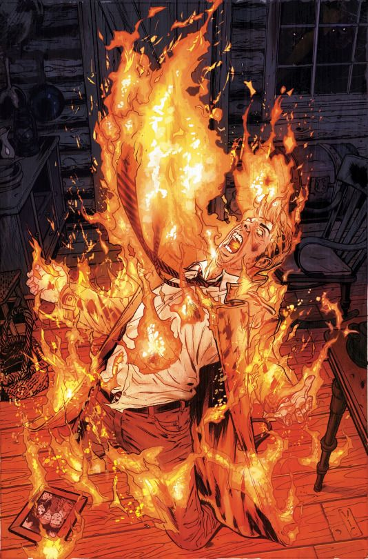 Constantine Vol.1 #14 (Cover art by Victor Ibanez)