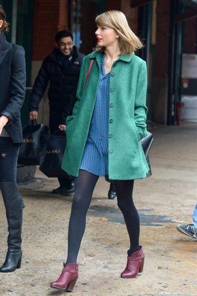 テイラー・スウィフト - スーパーモデルのリリー・オルドリッジと2ショットでNYスタイリッシュ私服 | 海外セレブファッションスナップ CELEB SNAP