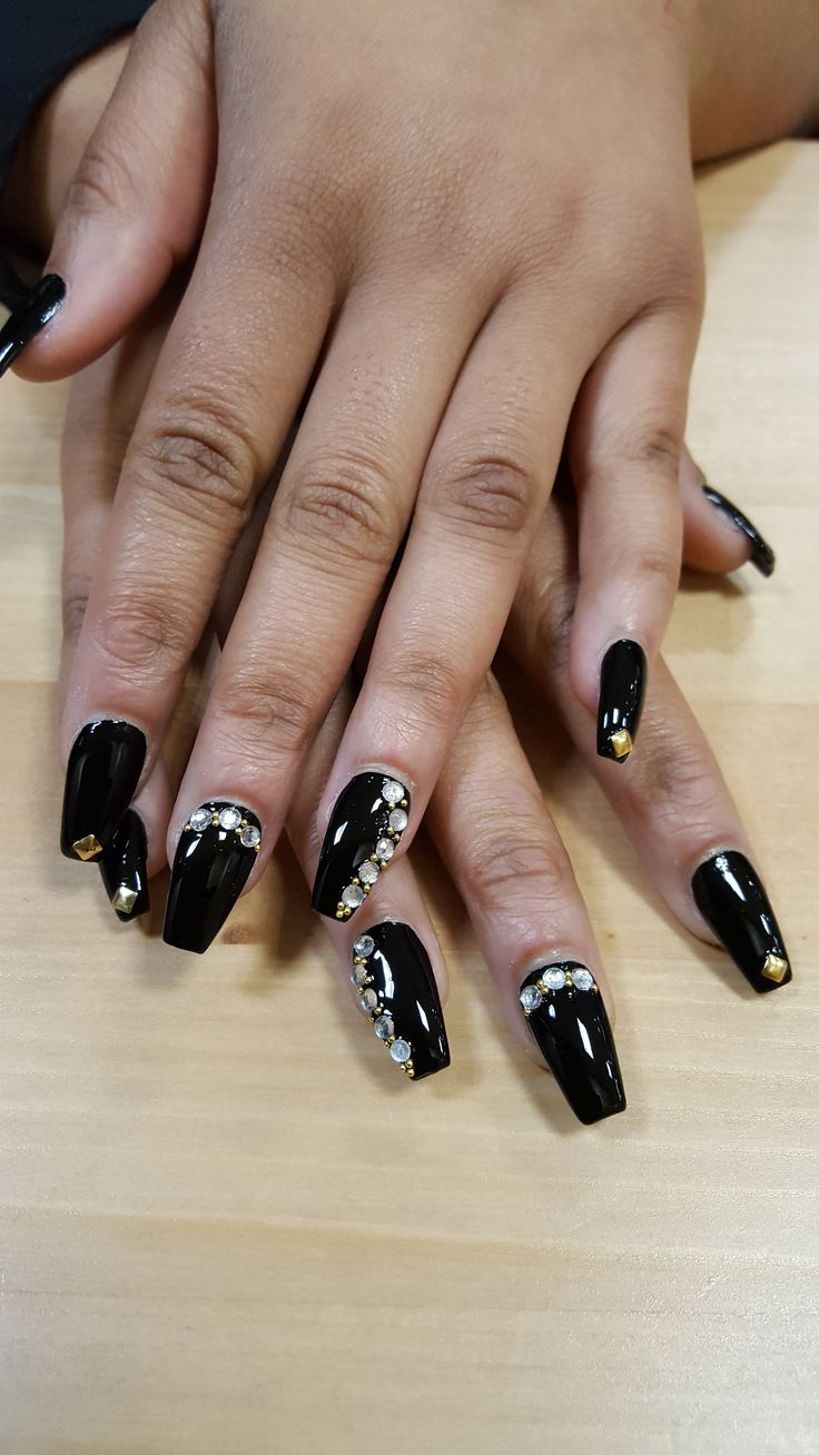 7 best Coffin Shape for Acrylic Nails images on Pinterest | Acrylic ...