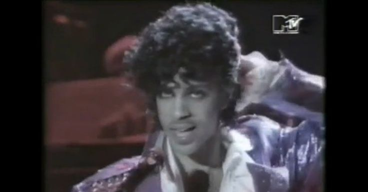 "He knew how to entertain! Not the best quality but One of the only videos left of ""Little Red Corvette"" by Prince, 1983."