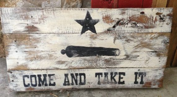 Texas Battle Flag pallet Sign by RusticRestyle on Etsy, $30.00