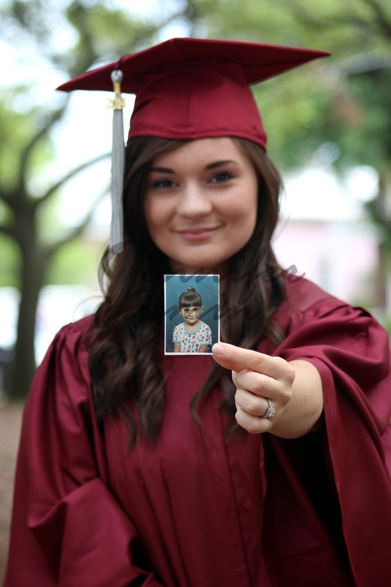 The Kindergarten photo. Where it all started. Cap and Gown photo I have taken   © Jennifer Jasmin Photography
