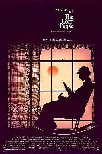 El color púrpura. Dirigida por STEVEN SPIELBERG (1985). Basada en la novela de Alice Walker Principios del siglo XX. Narra la historia de Celie, una adolescente negra de catorce años que está embarazada de su padre, un hombre despótico y cruel que la vende a un hombre que la maltrata tanto física como psicológicamente y la tiene esclavizada durante la mayor parte de su vida.
