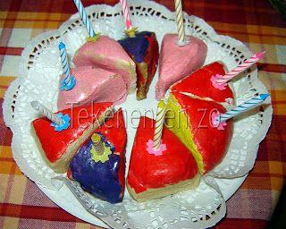 Kleurrijk, taart