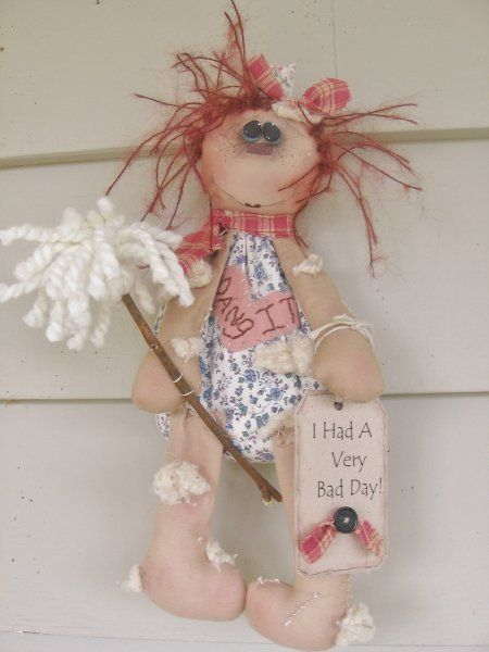 Darn It DollCountry Dolls, Dolls Pattern, Adorable Dolls, Prim Darning, Rag Dolls, Handmade Dolls, Country Prim, Raggedyprimit Dolls, Primitives Dolls