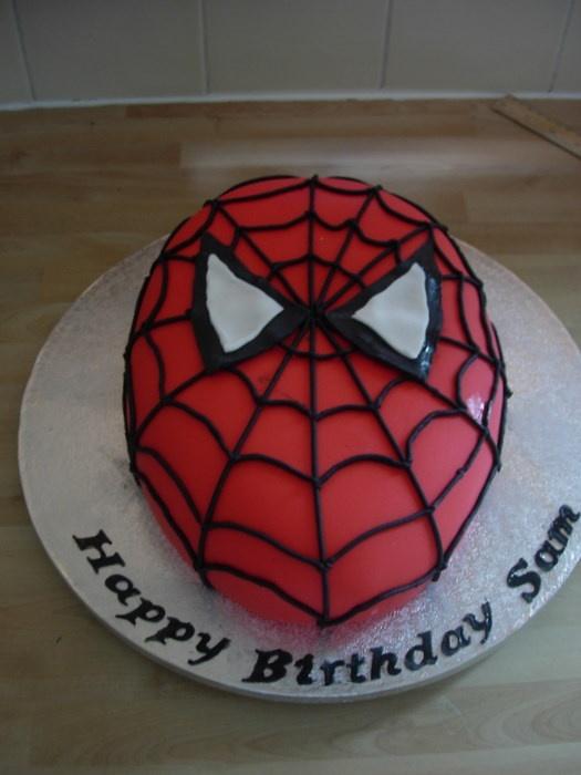 Spider Man Wheat Cakes