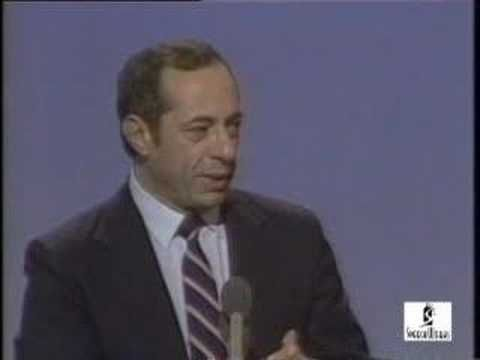 """One of my favorites...Mario Cuomo's 1984 Convention Speech.  """"Because the truth is, ladies and gentlemen, that this is how we were warned it would be. President Reagan told us from the very beginning that he believed in a kind of social Darwinism. Survival of the fittest. """"Government can't do everything,"""" we were told, so it should settle for taking care of the strong and hope that economic ambition and charity will do the rest."""""""