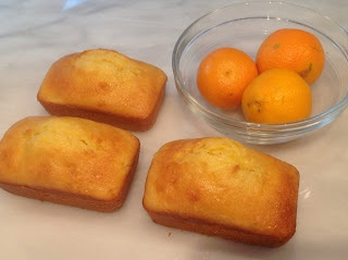 Clementine Mini Loaves: These moist, citrus-y loaf cakes are delicious sliced up as part of an afternoon tea dessert plate.