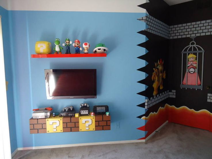 9 Best Super Mario Theme Room Images On Pinterest