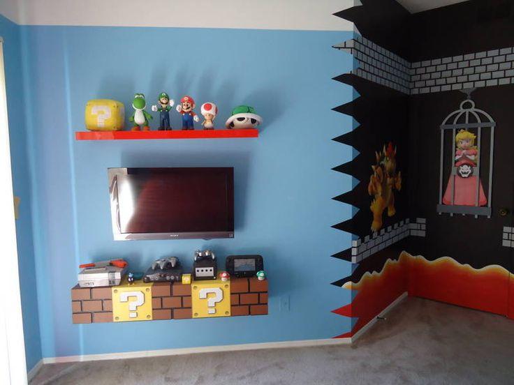 mario room diy mario game room mario room ideas super mario bedroom