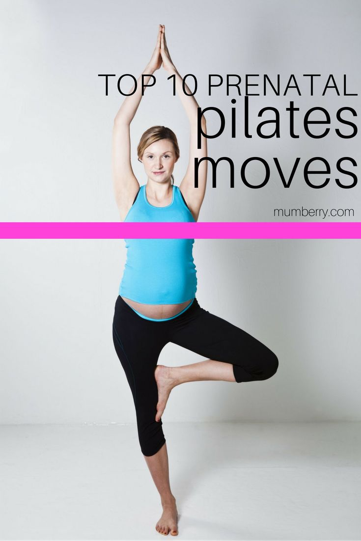 A certified prenatal pilates instructor gives us her top 10 go-to moves for a fit pregnancy