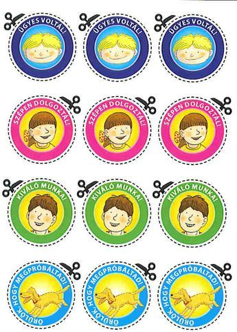 jutalom kártyák gyerekeknek - Google keresés