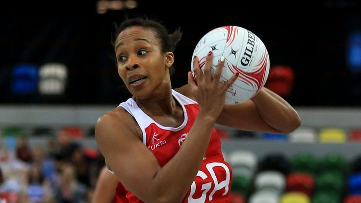 Pamela Cookey: In action on 100th international appearance