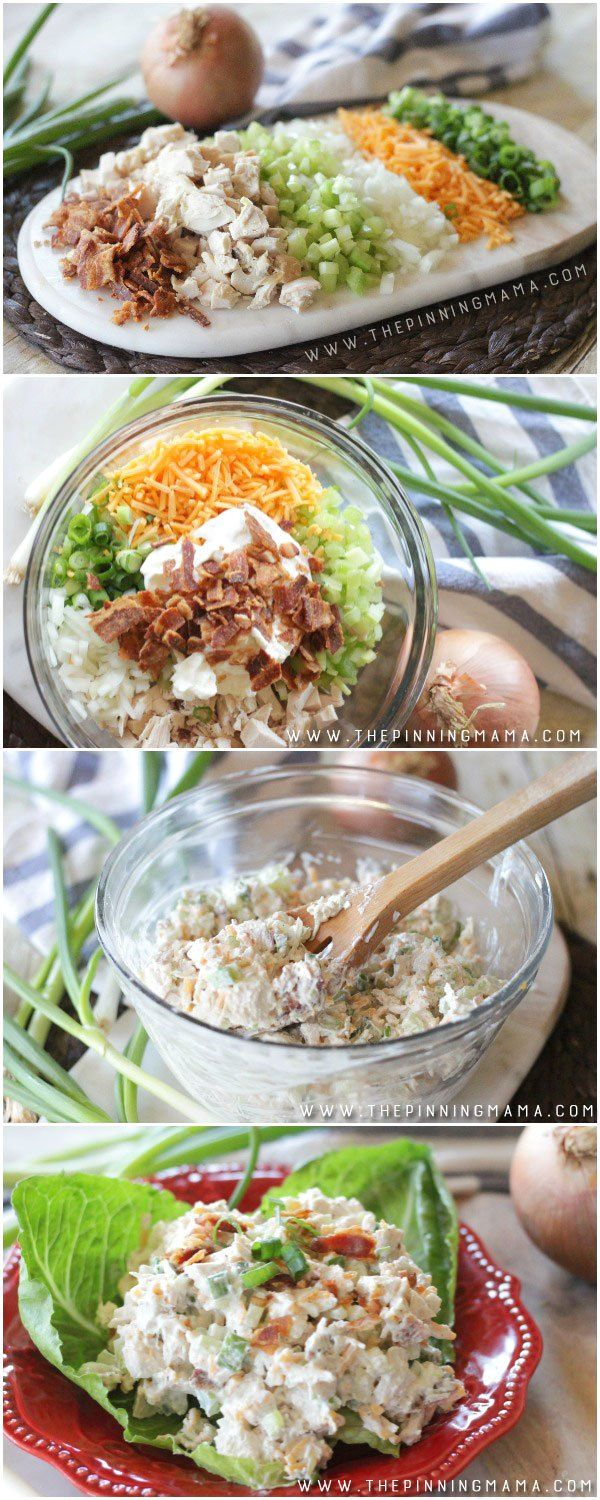 World's Best Loaded Chicken Salad Recipe - This literally disappears as soon as I bring it anywhere. Everyone loves it and wants the recipe!