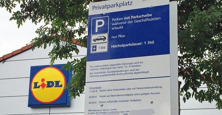 Aktuell! Private Wachdienste verteilen Bußgelder - Parkplatz-Ärger: Wann Sie Knöllchen von Lidl Rewe oder Aldi nicht bezahlen müssen - http://ift.tt/2pX1Wha #aktuell