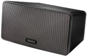 Amazon.com: SONOS - PLAY:3 Wireless Speaker for Streaming Music (Small) - Black: Electronics