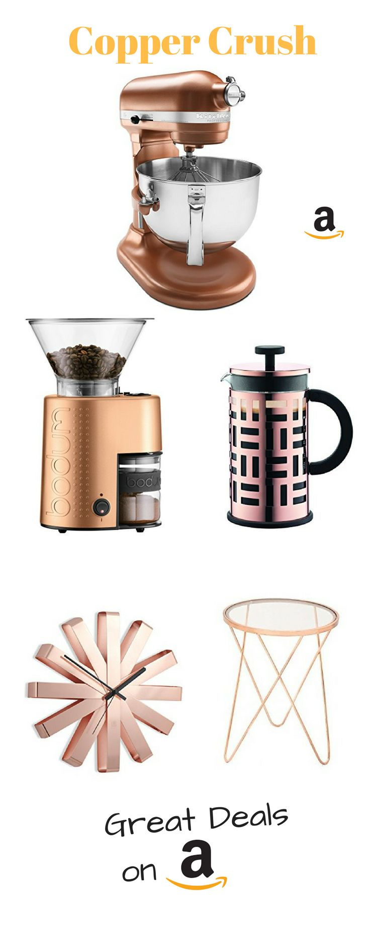 Copper-fy your Home .... find great deals on Amazon