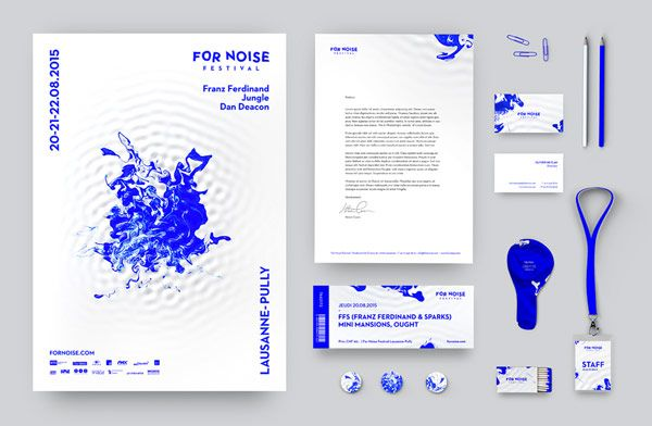 The completely new visual experience of the For Noise music festival. For Noise was once a pure Rock festival, but over the years it evolved to a festival