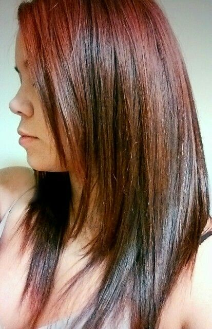 Red Hair With Brown Low Lights Hair Ideas Pinterest