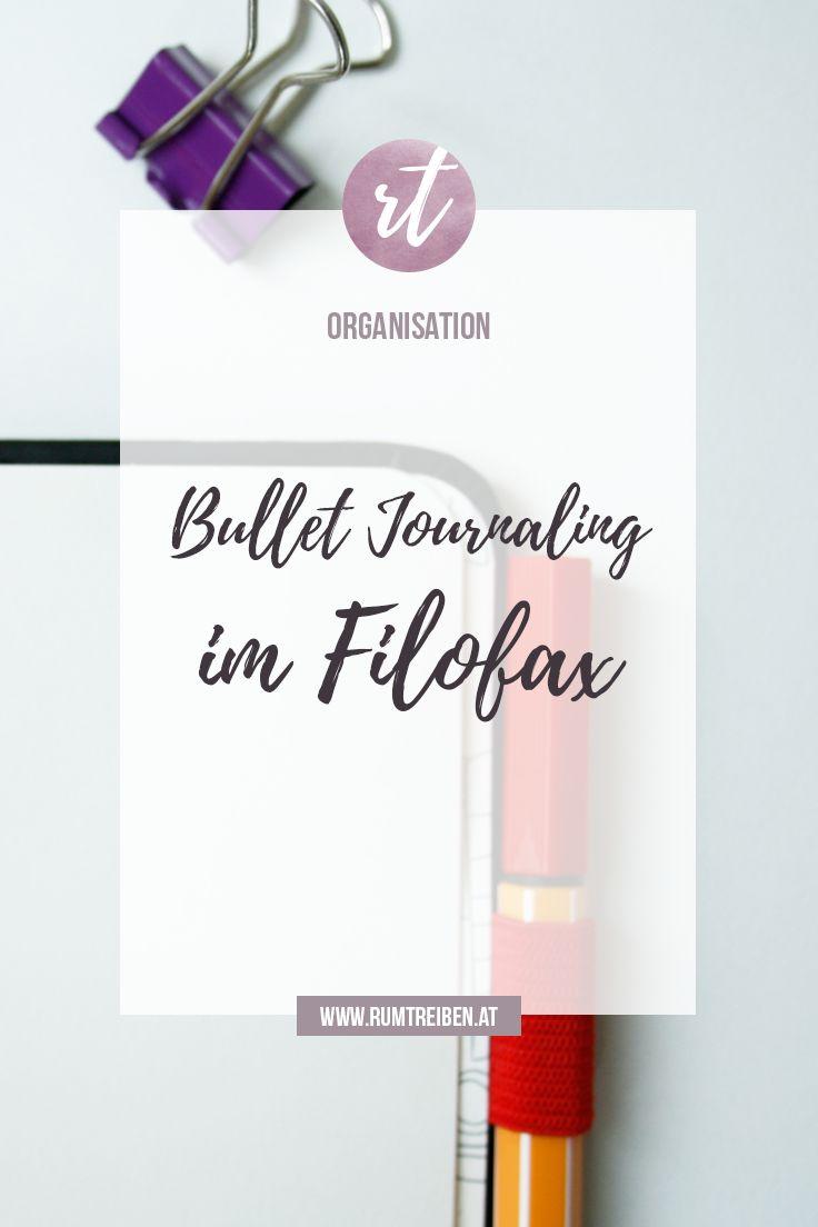 Bullet Journaling im Filofax & Scribbles That Matter #planner #filofax #scribblesthatmatter #bulletjournal