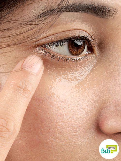 coconut oil for under-eye care