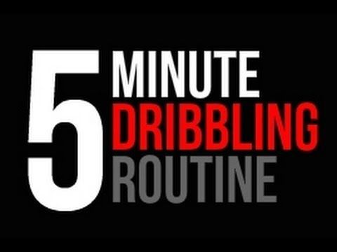 How To: Improve Your Ball Handling - Daily 5 Minute Dribbling Routine - Pro Training - YouTube