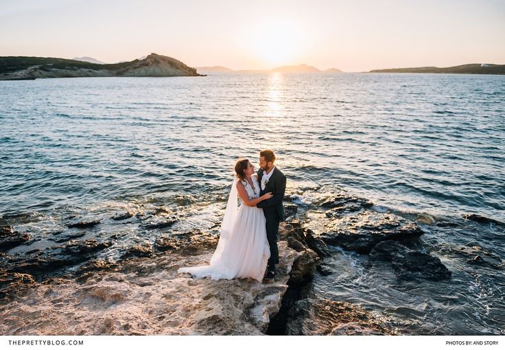 A destination wedding, filled with tradition and love, at their family's house in Greece.