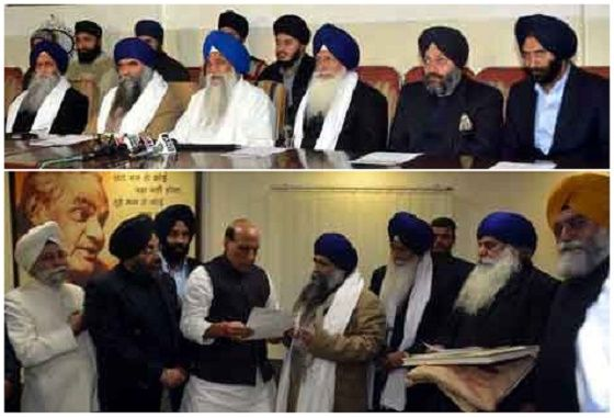 Sikh delegation met Indian Home Minister to seek release of Sikh political prisoners - http://sikhsiyasat.net/2014/12/30/sikh-delegation-met-indian-home-minister-to-seek-release-of-sikh-political-prisoners/